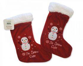 Chaussette de décoration Noël à personnaliser